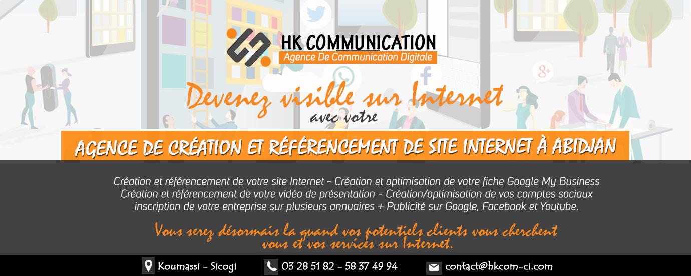 Agence de gestion de visibilité sur Internet à Abidjan